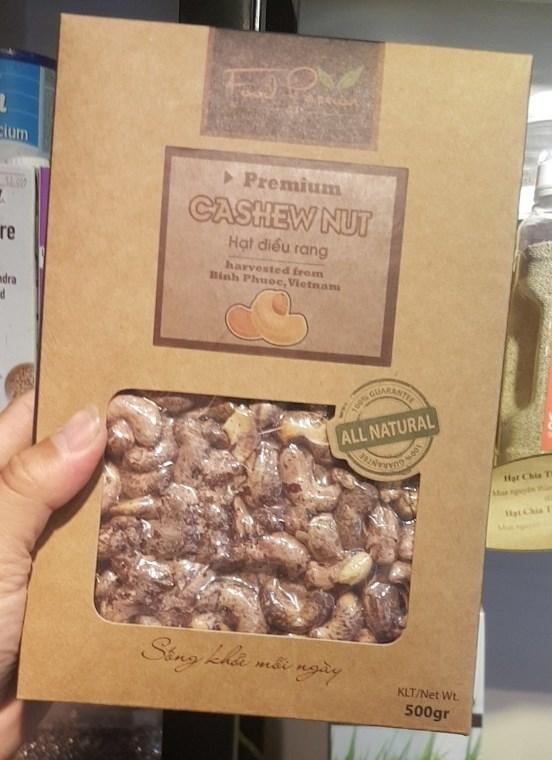 Hạt Điều Vỏ Lụa Food Passion 500gr – Almond